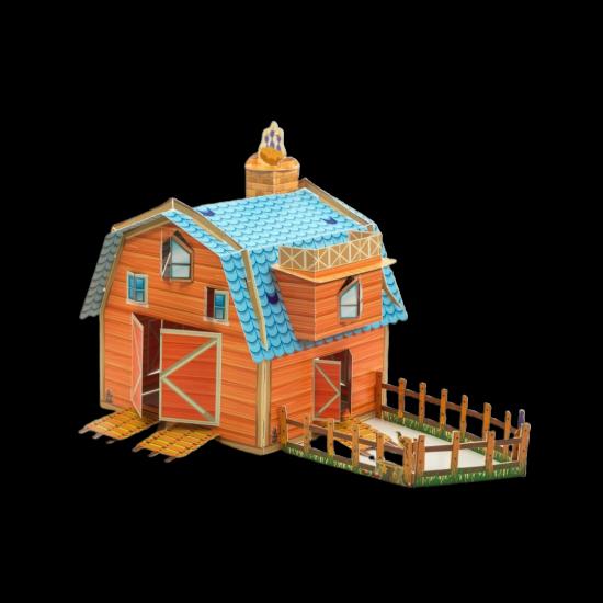 Çocuk için yapboz maket oyunu (Ali Babanın Çiftliği)