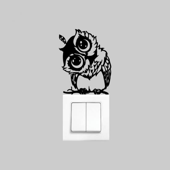 Priz Dekoru Baykuş
