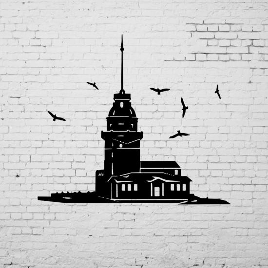 Duvar Dekoru Kız Kulesi