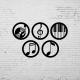 Duvar Dekoru Muzik