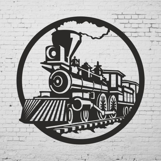Duvar Dekoru Buharli Tren