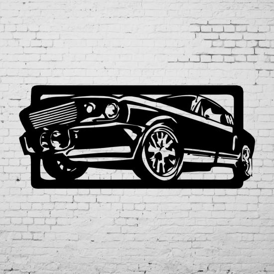 Duvar Dekoru Yarış Arabası