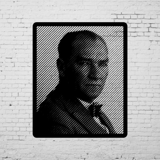 Duvar Dekoru Ataturk