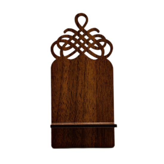 Ahşap Dekoratif Telefon tutucu